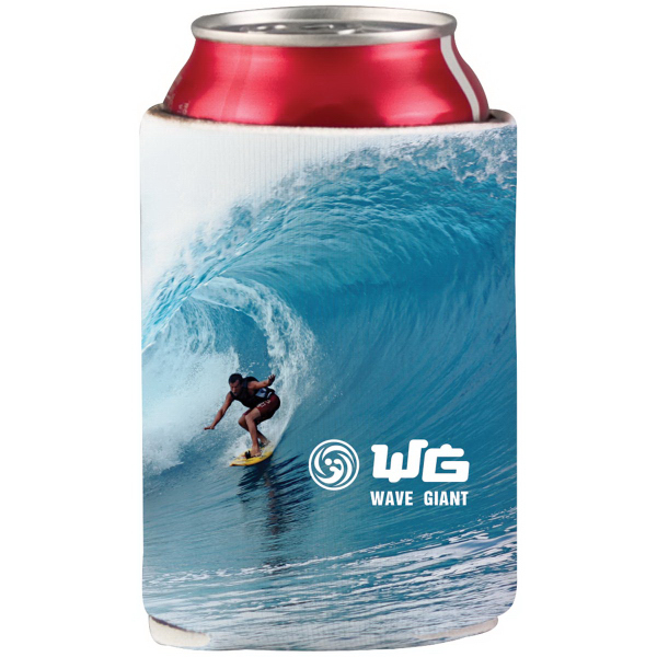 Full Color Neoprene Can Cooler