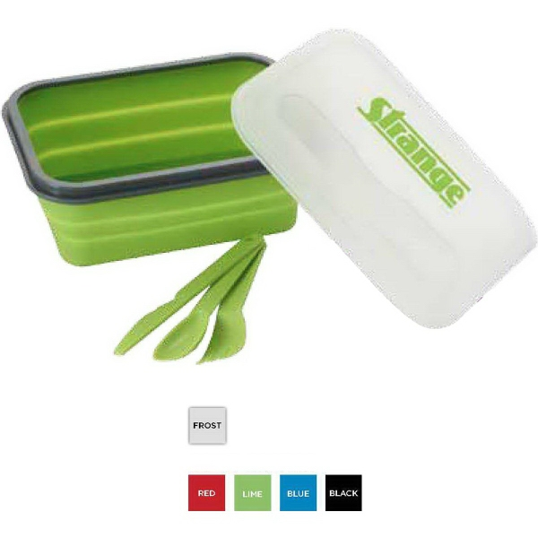 Silicone Collapse-It (TM) Lunch Container