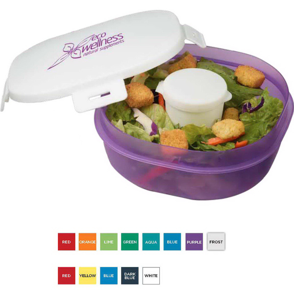 Salad-To-Go (TM) Container