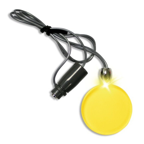 Frosted Glow Pendant (Yellow LED)