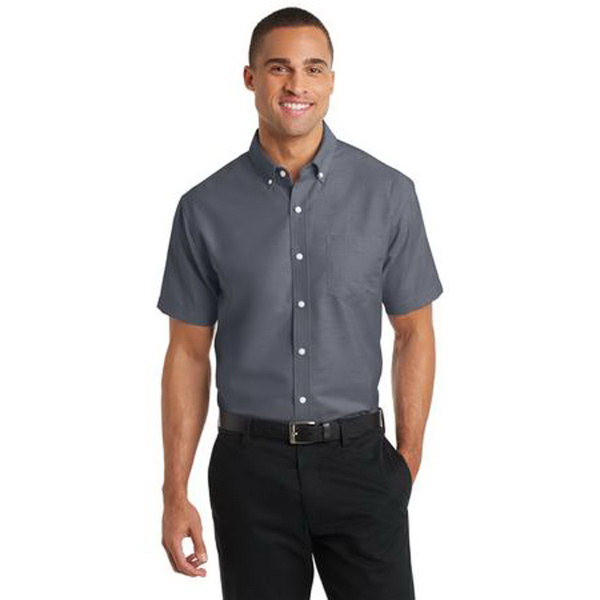 Port Authority (R) Short Sleeve SuperPro Oxford Shirt