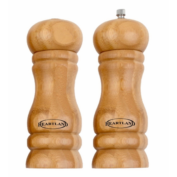 Bamboo Salt and Pepper Set