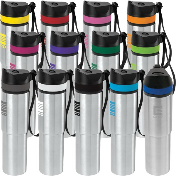 20 oz Persona (TM) Tower Vacuum Water Bottle