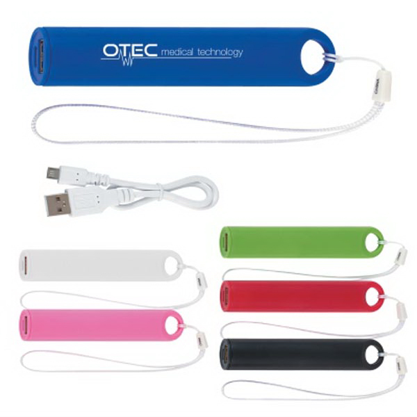Round Charger with Wrist Strap