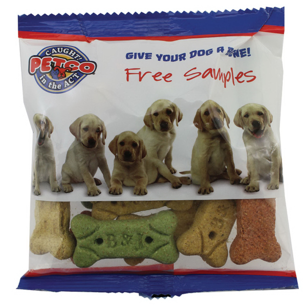 Wide Zaga Snack Promo Pack Candy Bag with Dog Bones