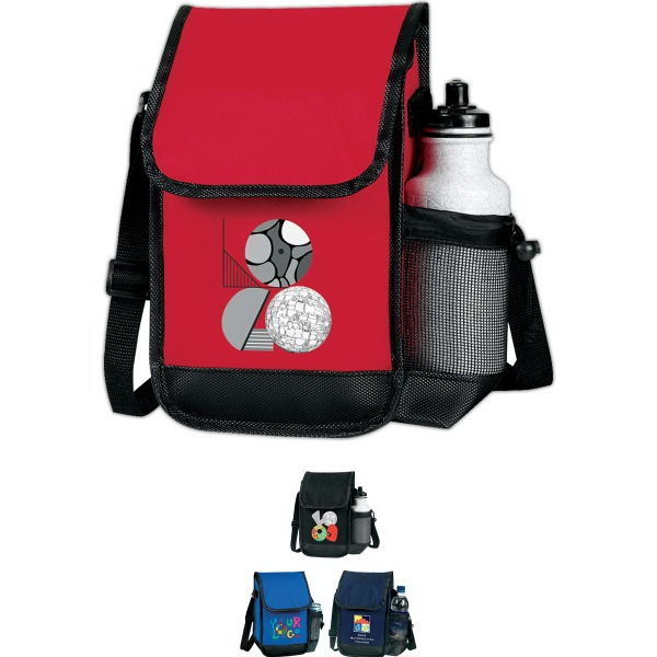 Executive Lunch Bag with Bottle Holder