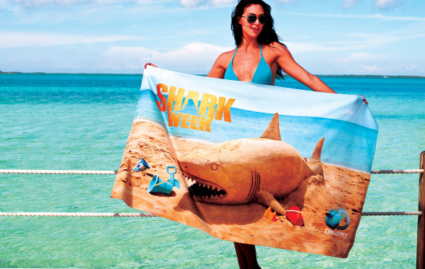 """ColorFusion (TM) Beach & Fitness Towel - 30"""" x 60"""""""