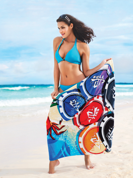 "ColorFusion (TM) Beach & Fitness Towel - 35"" x 60"""