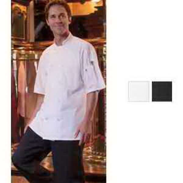 Short Sleeve Chef Coat- White