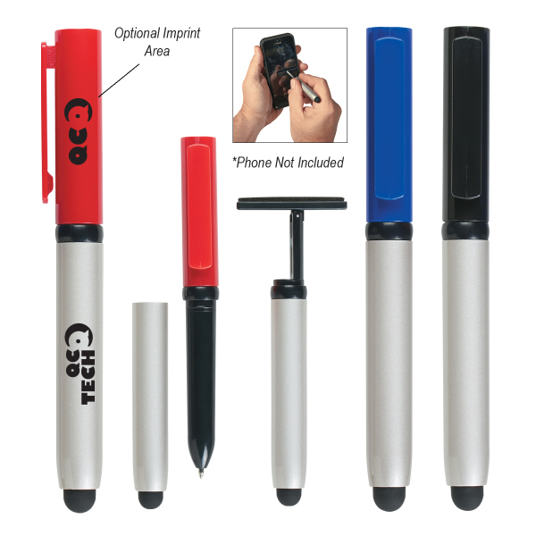 Stylus Pen with Screen Cleaner