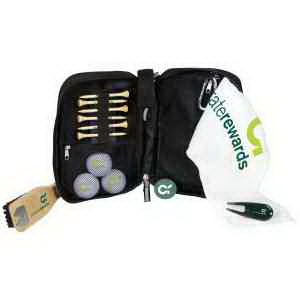 Voyager Caddy Bag Kit with Pinnacle Gold Golf Balls