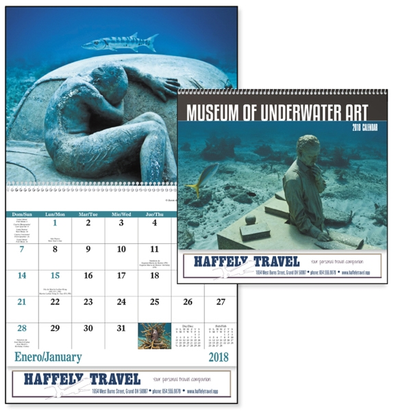 Spiral Museum of Underwater Art Appointment Calendar