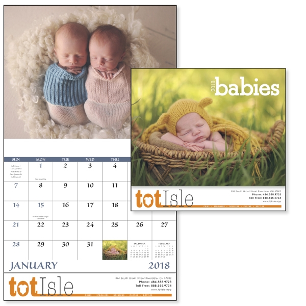 Stapled Babies Lifestyle Appointment Calendars
