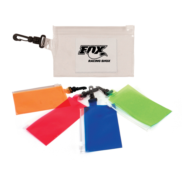 Clip 'N Go Bag With Microfiber Cloth