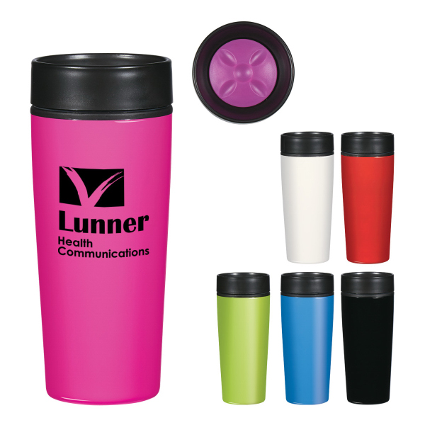 14 oz. Stainless Steel Glossy Tumbler