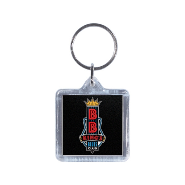 Full Color Acrylic Square Key Tag