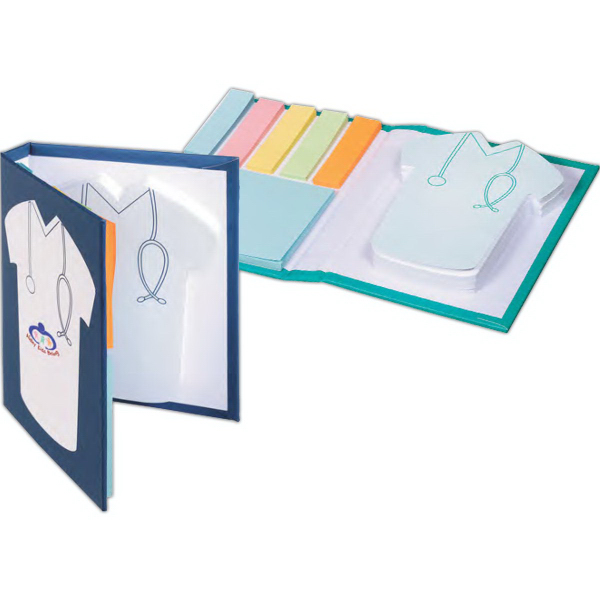 Medical Scrub Sticky Book (TM)
