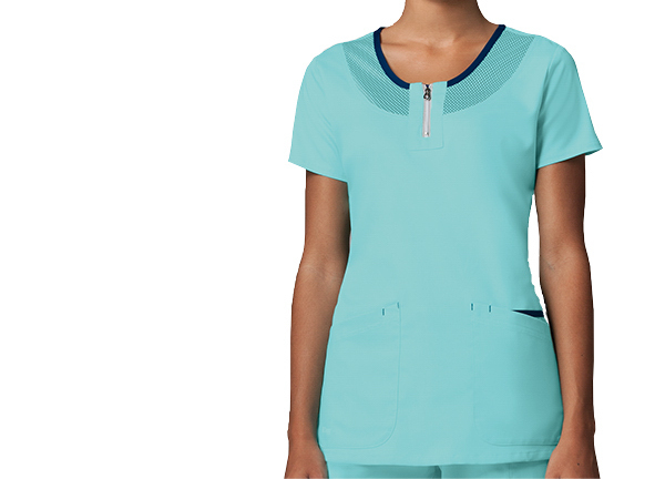 Barco Grey's Anatomy Active Neck Mesh Top