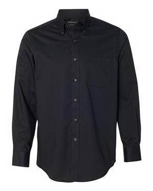 Van Heusen Long Sleeve Slim Fit Twill Shirt