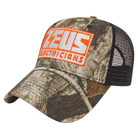 Solid Color Mesh Back Next G2(TM) Camo Cap