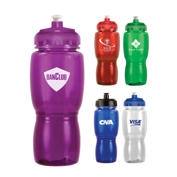 18 oz. Poly-Saver Mate Bottle With Push 'N Pull Cap
