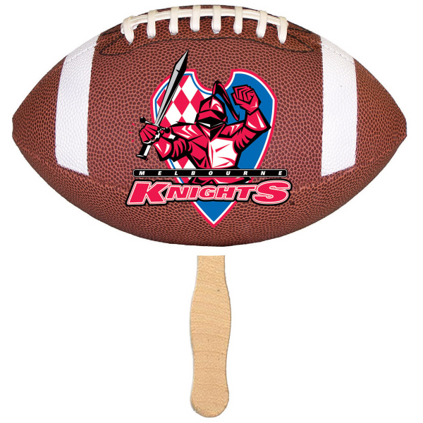 Handheld Football Shaped Fan - Mini