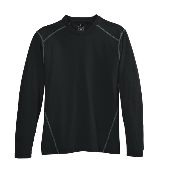 River's End Sport Men's Long-Sleeve Contrast Stitch Tee