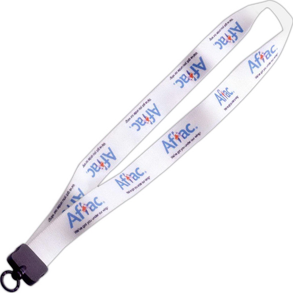 "Quick Turn 1"" Dye Sublimated Stretchy Elastic Lanyard"