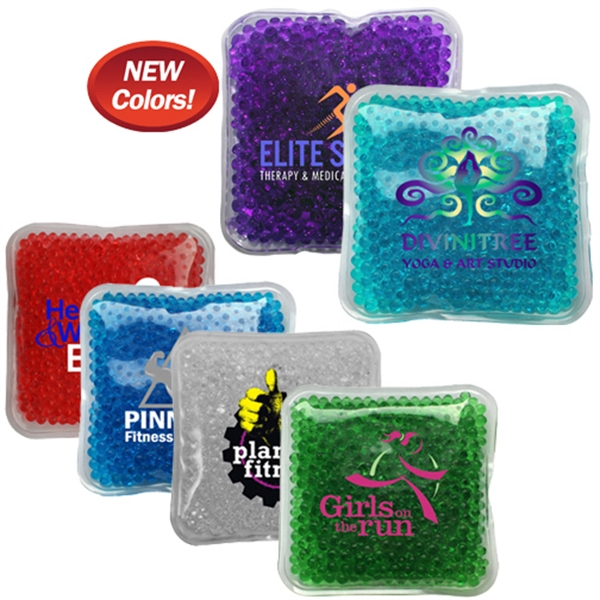 Gel Bead Hot / Cold Pack, Full Color