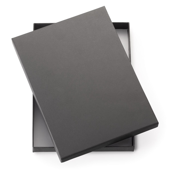 "2-Piece Black Gift Box For 8"" Journals"