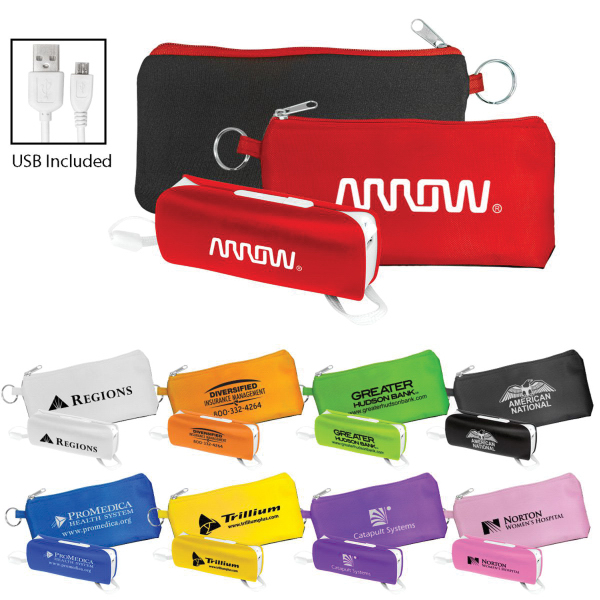 UL Flashlight Power Bank Set