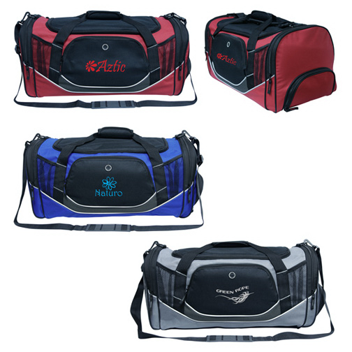 Sports/Duffle Bag with Shoe Pouch