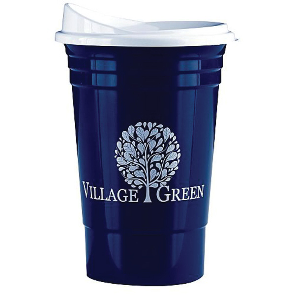 The Ultimate Party Cup -16 oz with Optional Lid