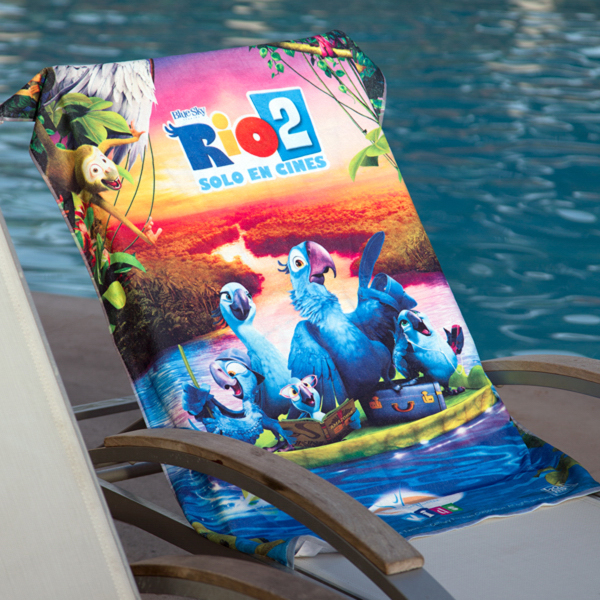 ImagePro Small Beach Towel