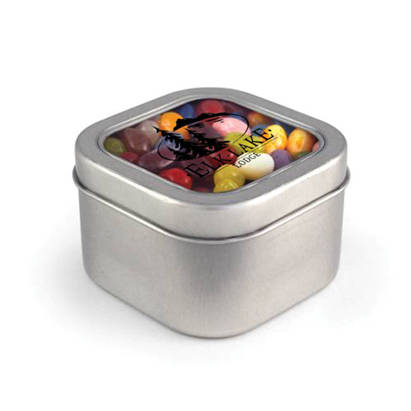 Square Window Tin - Jelly Belly (R)