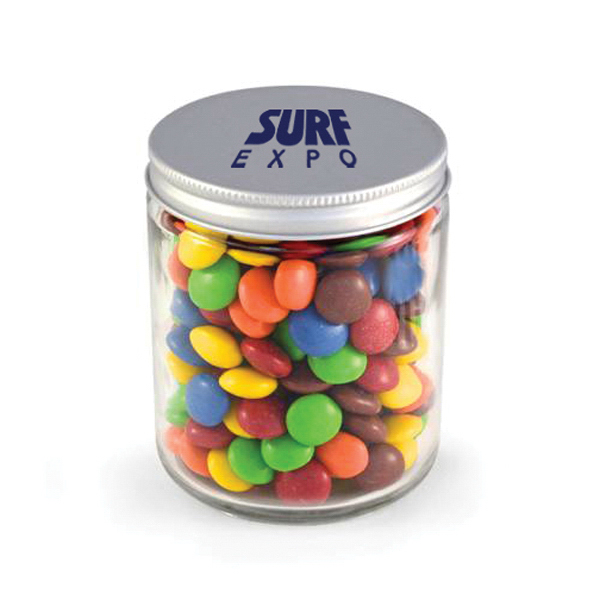 Glass Jar - Chocolate Buttons