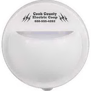 LED Half-Dome Night Light with Photocell