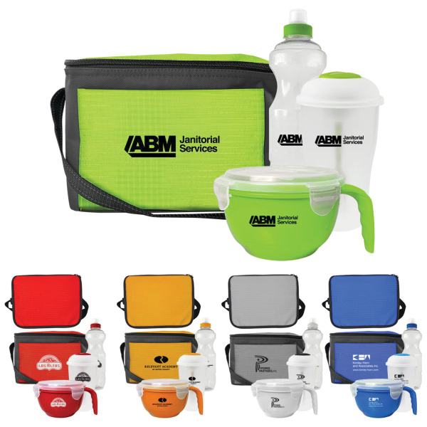 Complete Lunch and Drink Set