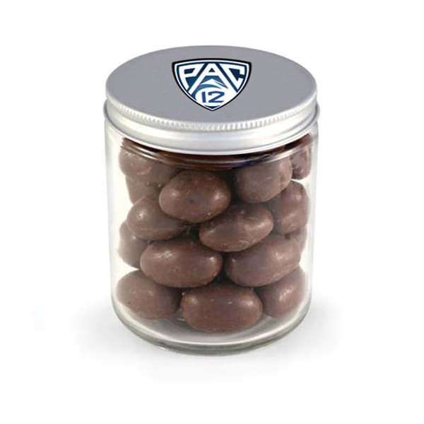 Glass Jar - Chocolate Covered Almonds, Full Color Digital