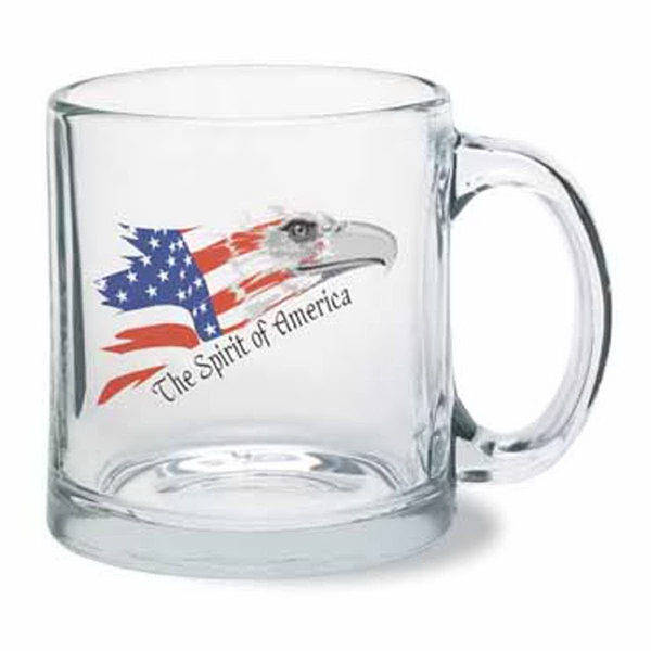 Glass 13 oz. Clear Mug