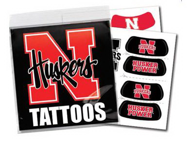 Custom Eyeblack Tattoo Pack with Full Color Insert Card