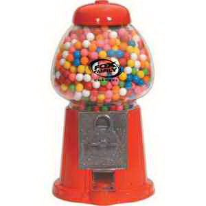 "11"" H Red Junior Gumball Machine"