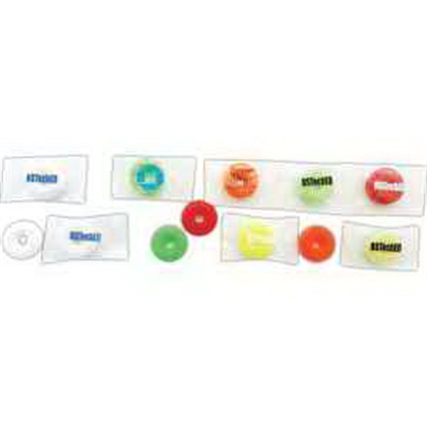 Imprinted Life Saver Assorted Fruit Candy with Label