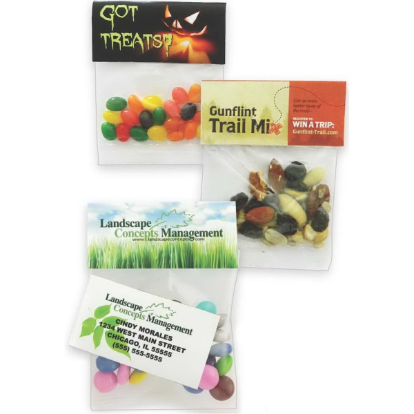 Small Header Bag with Jelly Belly(R) Jelly Beans