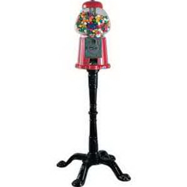 King Gumball Machine with Floor Stand