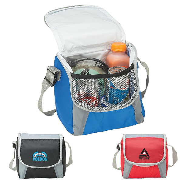 6 Can Cooler ~ Can cooler lunch bag usimprints