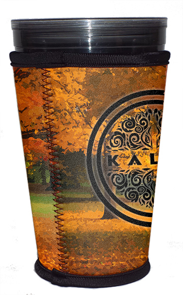 Neoprene 12 ounce Coffee Tumbler Insulator For Hot Or Iced