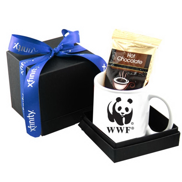 Mug & Hot Chocolate Deluxe Gift Box