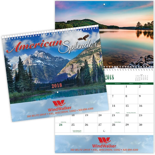 Coronado Collection American Splendor Calendar
