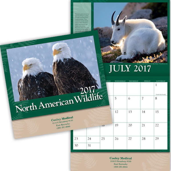 North American Wildlife Appointment Calendar